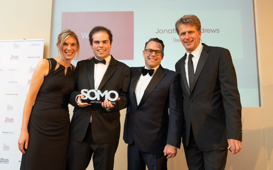 My Social Mobility Story: 'Rising Star of the Year', Jonathan Andrews