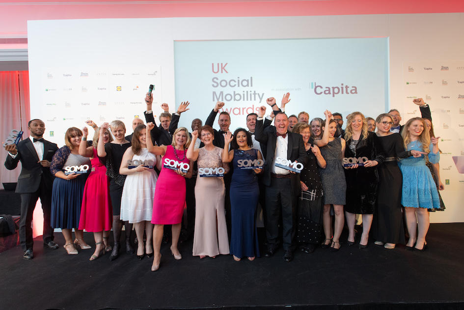Winners Announced – UK Social Mobility Awards 2019